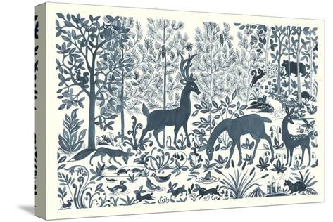 Forest Life I-Miranda Thomas-Stretched Canvas Print