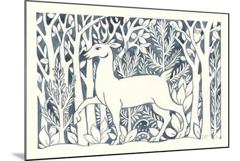 Forest Life V-Miranda Thomas-Mounted Art Print