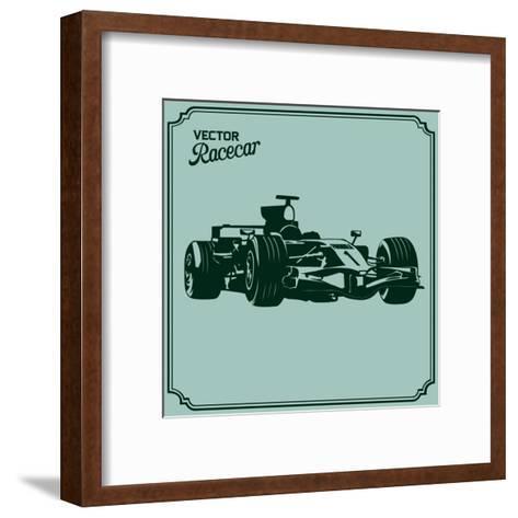 Race Car- Vrymoet-Framed Art Print