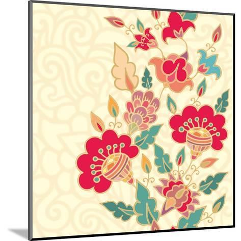 Floral Border-aniana-Mounted Art Print