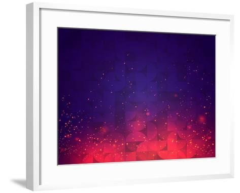 Abstract Background for Design. Vector.-SkillUp-Framed Art Print