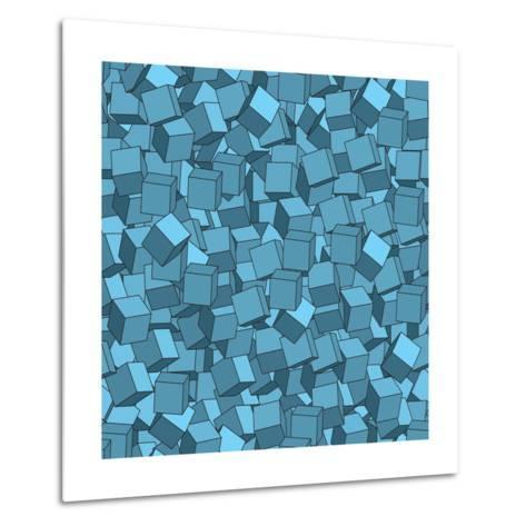 Seamless Vector Abstract Texture- Chet-Metal Print