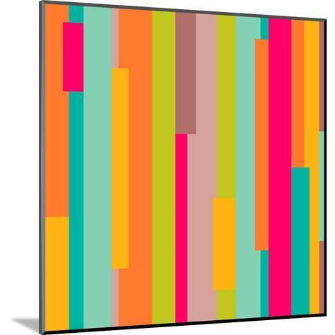 Abstract Geometric Pattern-Victoria Kalinina-Mounted Art Print