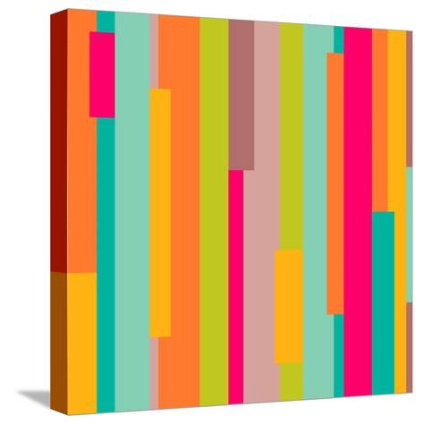 Abstract Geometric Pattern-Victoria Kalinina-Stretched Canvas Print