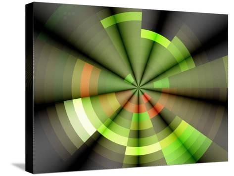Background Rays- Forfunlife-Stretched Canvas Print