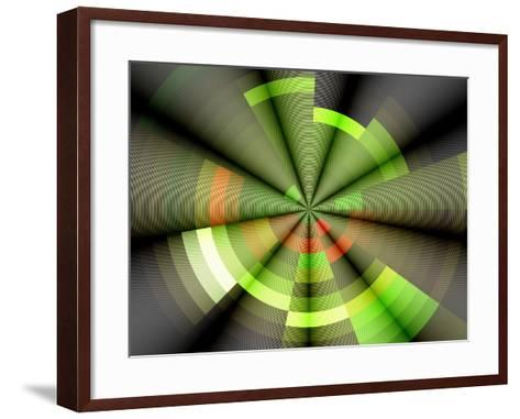 Background Rays- Forfunlife-Framed Art Print