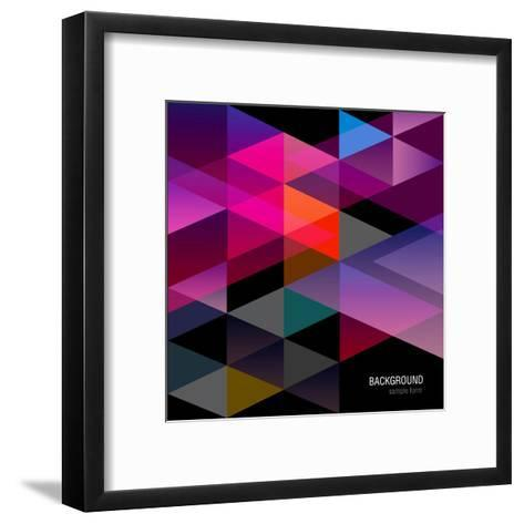 Abstract Background for Design-windesign-Framed Art Print