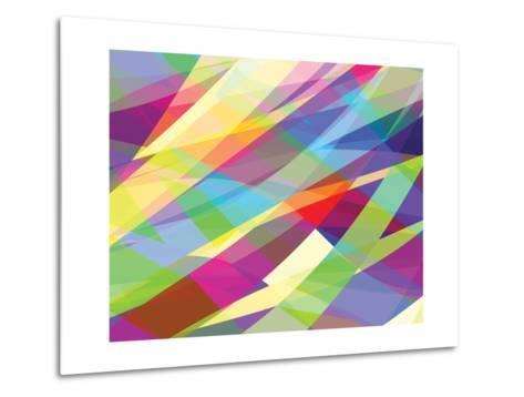 Abstract Editable Vector Background of Many Colors-Robert Adrian Hillman-Metal Print