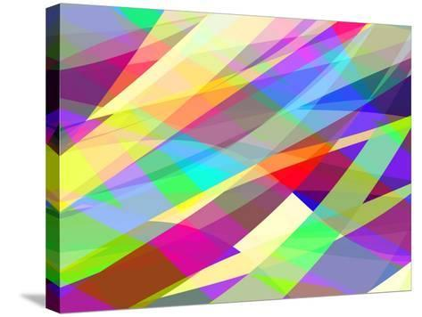 Abstract Editable Vector Background of Many Colors-Robert Adrian Hillman-Stretched Canvas Print