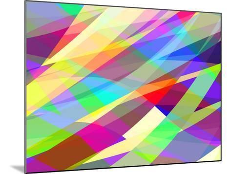 Abstract Editable Vector Background of Many Colors-Robert Adrian Hillman-Mounted Art Print