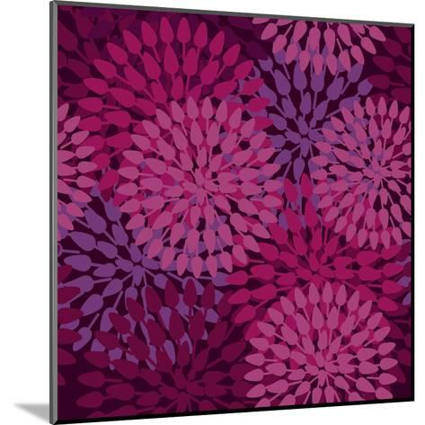 Abstract Flower Texture in Gentle Colors-Lola Tsvetaeva-Mounted Art Print