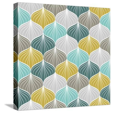 Abstract Seamless Pattern.Vector Illustration- NadyaJema-Stretched Canvas Print