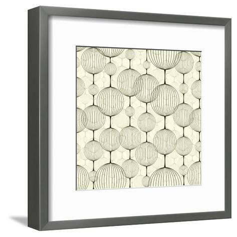 Abstract Seamless Pattern, Background. Seamless Pattern Can Be Used for Wallpaper, Pattern Fills, W-pgmart-Framed Art Print