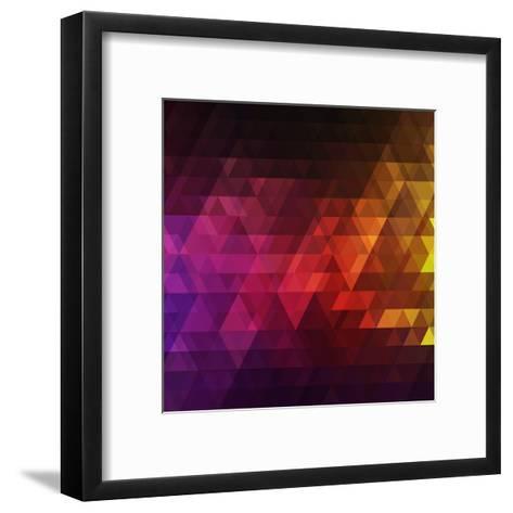 Abstract Background for Design- Melamory-Framed Art Print
