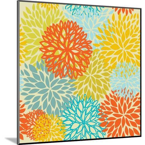 Floral Seamless Pattern-mcherevan-Mounted Art Print