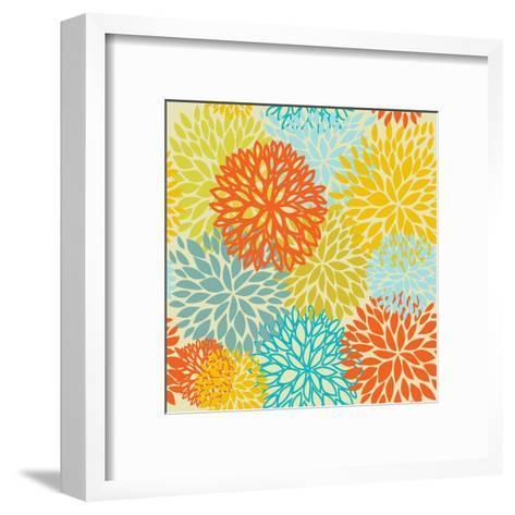 Floral Seamless Pattern-mcherevan-Framed Art Print