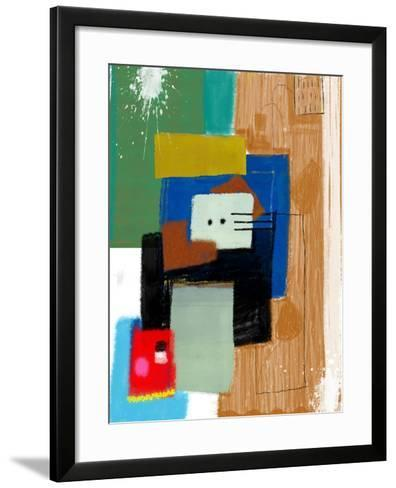 Abstract, Which Consists of a Plurality of Color Patches-Dmitriip-Framed Art Print