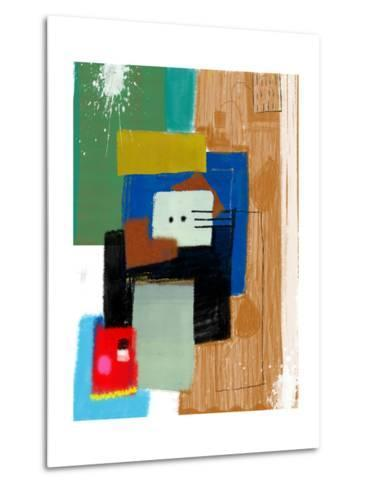 Abstract, Which Consists of a Plurality of Color Patches-Dmitriip-Metal Print