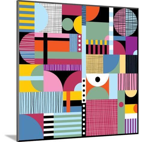 Scandinavian Colorful Pattern-Dmitry Karlov-Mounted Art Print