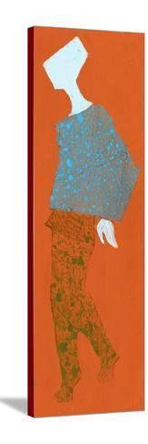 Hand Drawn Fashionable Artistic Illustration-Alina Shakhovets-Stretched Canvas Print