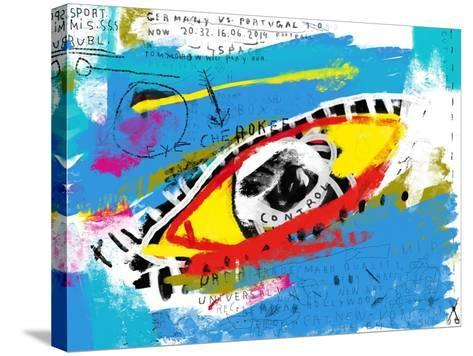 Symbolic Image of the Eye in Color-Dmitriip-Stretched Canvas Print