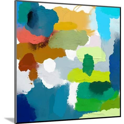 Colored Spots, Which are Arranged on a Plane-Dmitriip-Mounted Art Print