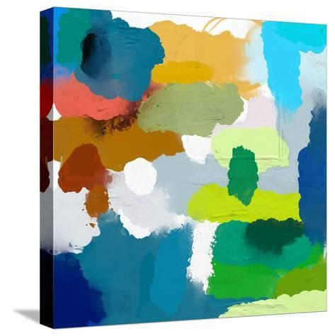 Colored Spots, Which are Arranged on a Plane-Dmitriip-Stretched Canvas Print