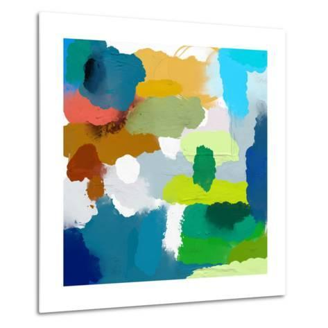 Colored Spots, Which are Arranged on a Plane-Dmitriip-Metal Print
