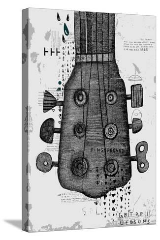 Symbolic Image of Part of a Musical Instrument-Dmitriip-Stretched Canvas Print