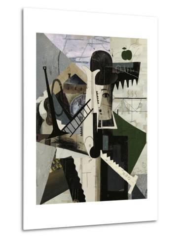 Abstract Image of Charlie-Dmitriip-Metal Print