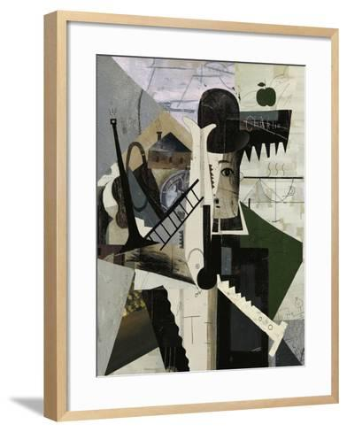 Abstract Image of Charlie-Dmitriip-Framed Art Print