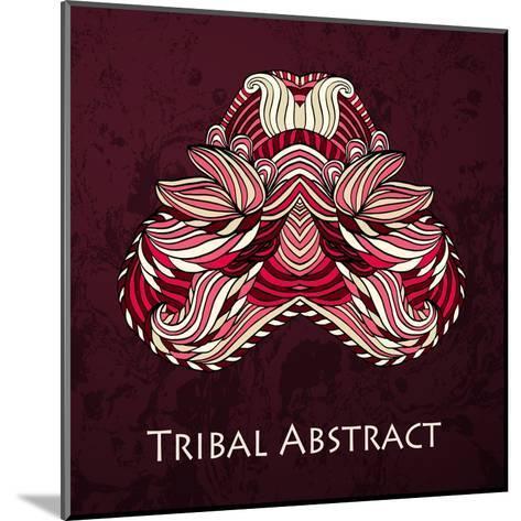 Vector Tribal Abstract Element for Design and Decor.-Kakapo Studio-Mounted Art Print