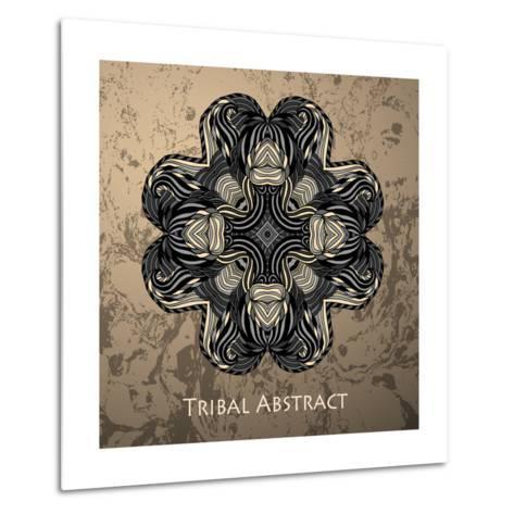 Vector Tribal Abstract Element for Design and Decor.-Kakapo Studio-Metal Print