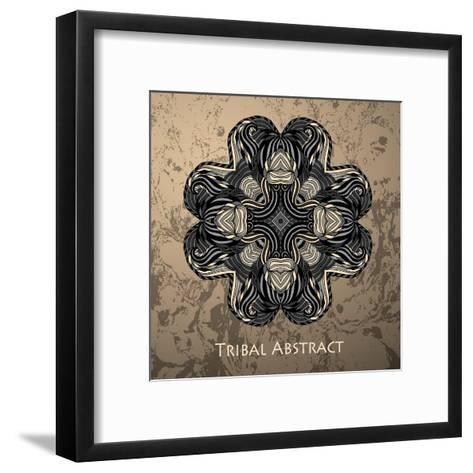 Vector Tribal Abstract Element for Design and Decor.-Kakapo Studio-Framed Art Print