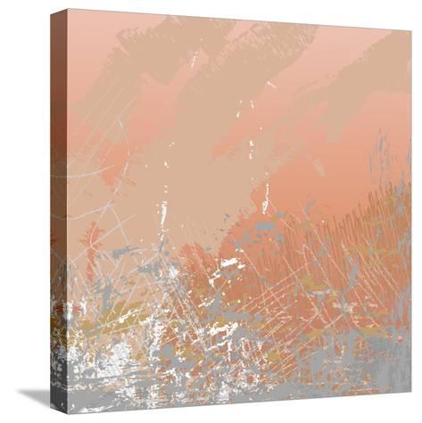 Grunge Retro Vintage Paper Texture, Grungy Old Brown Background, Illustration Design Element- xpixel-Stretched Canvas Print