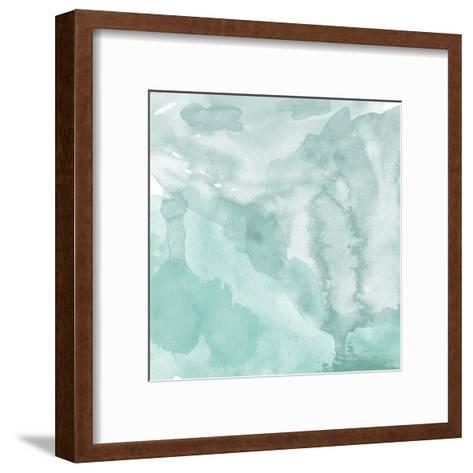 Watercolor Background. Digital Art Painting.- Evart-Framed Art Print