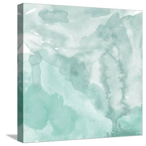 Watercolor Background. Digital Art Painting.- Evart-Stretched Canvas Print