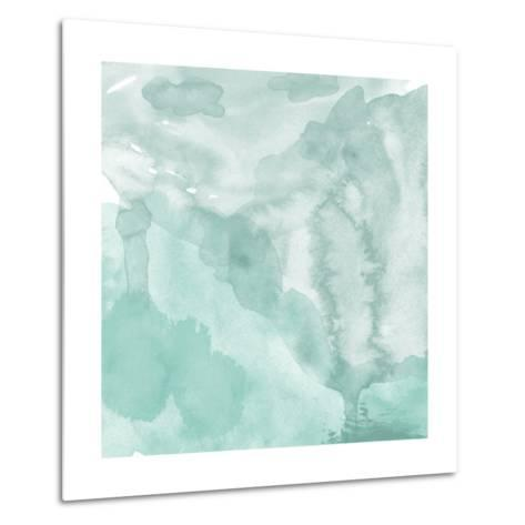 Watercolor Background. Digital Art Painting.- Evart-Metal Print