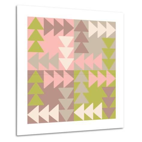 Decorative Vector Poster Geometric Shapes- matryoshka123-Metal Print