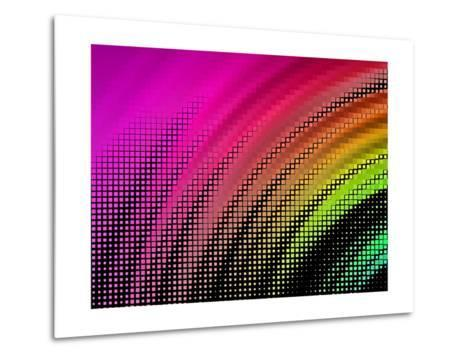 Abstract Background, Vector without Gradient- Gala-Metal Print