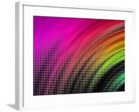 Abstract Background, Vector without Gradient- Gala-Framed Art Print
