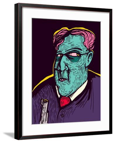 The Mafia- DigitalSmile-Framed Art Print