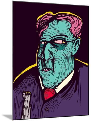 The Mafia- DigitalSmile-Mounted Art Print