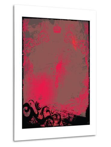 Grunge Background- Maksbart-Metal Print