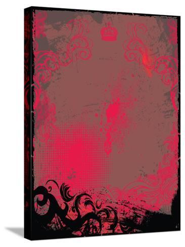 Grunge Background- Maksbart-Stretched Canvas Print