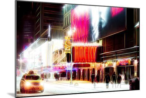 Manhattan Shine - Broadway Theater-Philippe Hugonnard-Mounted Photographic Print