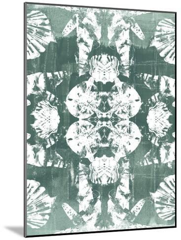 Sea Green Kaleidoscope IV-June Vess-Mounted Art Print