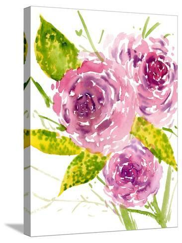 Bouquet Rose I-Melissa Wang-Stretched Canvas Print