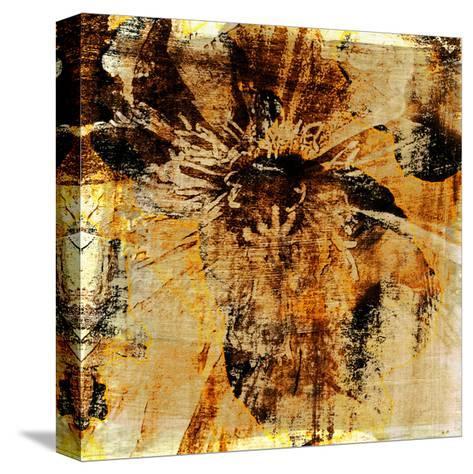 Poppy Gold III-Sia Aryai-Stretched Canvas Print