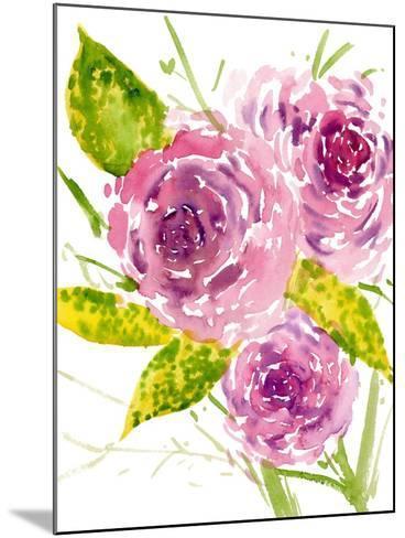 Bouquet Rose I-Melissa Wang-Mounted Art Print